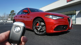 Download 2017 Alfa Romeo Giulia Ti: Start Up, Exhaust, Walkaround and Review Video