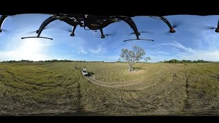 Download 360 VR Video Lion Walk at Zimbabwe Film trip - Photos of Africa Video