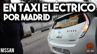 Download En taxi eléctrico por Madrid Video