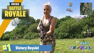 Download Airsoft War: Fortnite Battle Royale in Real Life! Video