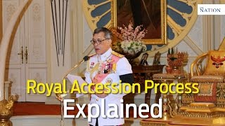 Download King Rama X Royal Accession Process Explained Video