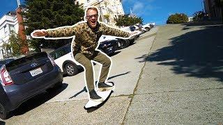 Download 2 WHEEL SKATEBOARD!!!! Video