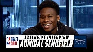 Download Admiral Schofield Interview: Tennessee Star Talks NBA Draft Prep | Stadium Video