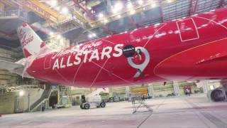 Download #AirAsiaXTurns9 - The making of the AirAsia X's 9th Anniversary livery Video
