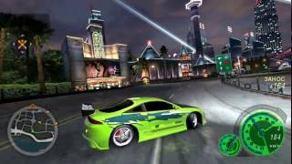 Download Need for Speed: Underground 2 - Eclipse Brian O' Conner Tuning Video
