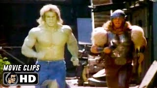 Download THE INCREDIBLE HULK RETURNS Best Parts (1988) Lou Ferrigno Video