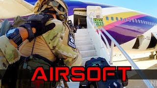 Download AIRSOFT AIRPLANE HOSTAGE RESCUE Video