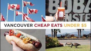 Download 5 Vancouver Cheap Eats under $5 Video