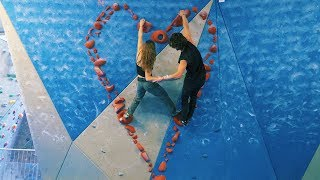 Download Valentines Special - Partner Climbing - Emil And Nikken - Routesetting Video