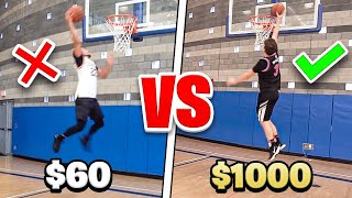 Download $60 BASKETBALL SHOE Vs. $1000 BASKETBALL SHOE Video