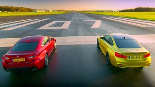 Download BMW M4 Coupé Vs Lexus RC F - Top Gear - Series 22 - BBC Video