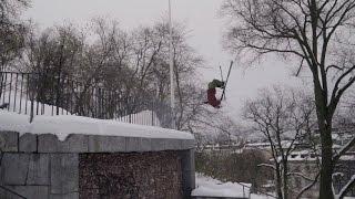 Download big mountain freeskiing i Stockholm Video