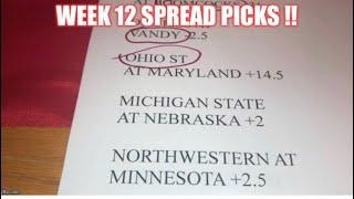Download College Football Week 12 Picks Against the Spread Video