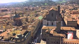 Download Torre Prendiparte - video a volo d'uccello su Bologna Video