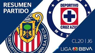 Download Resumen y Goles   Guadalajara vs Cruz Azul   Jornada 6 - Clausura 2020   Liga BBVA MX Video