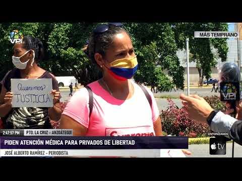 Anzoátegui - Piden atención médica para privados de libertad - VPItv