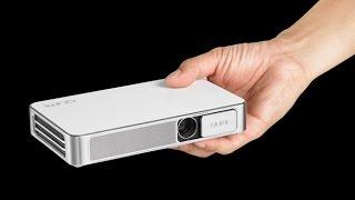 Download REVIEW: New Vivitek Qumi Q3 Plus + Wireless Connection to iPhone Video