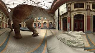Download Google оживил динозавров 2d, 3d, 360.Giraffatitan׃Back to Life in Virtual Reality #PreviouslyOnEarth Video