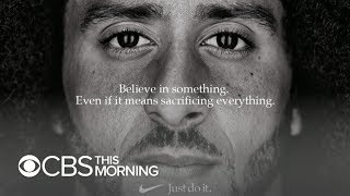 Download Colin Kaepernick Nike ad sparks support and outrage Video