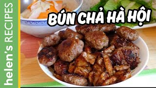 Download Bún chả - Vietnamese Grilled Pork with Vermicelli Recipe Video