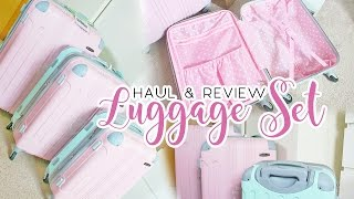 Download Cute Luggage Review | Rockland 3 Piece Sonic Upright Set Video