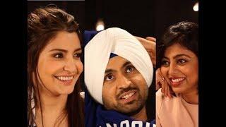 Download Diljit Dosanjh and Anushka Sharma Chat with Atika Ahmad Farooqui Video