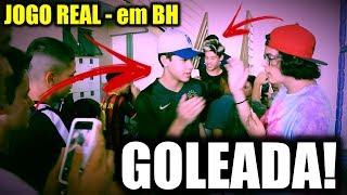 Download FOMOS PARA BH JOGAR BOLA E DEMOS SHOW!!! - JOGO REAL Video