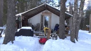 Download THE TENT. Winter Trip 2018. Video