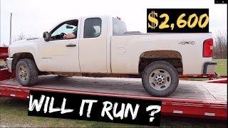 Download $2,600 2011 CHEVY Silverado 2500 4x4 Auction BUY! WILL IT RUN? Video