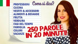 Download Impara 250 parole di italiano in 20 minuti! Video