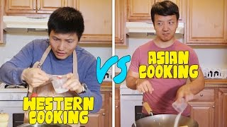 Download Chinese Cooking VS. Western Cooking Video