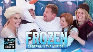Download Crosswalk the Musical: Frozen ft. Kristen Bell, Idina Menzel, Josh Gad & Jonathan Groff Video
