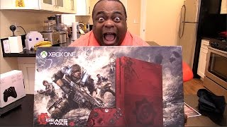 Download OMG...XBOX ONE S GEARS OF WAR 4 BUNDLE UNBOXING! Video