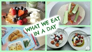 Download WHAT I EAT IN A DAY & KIDS MEALS Video