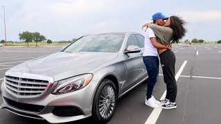 Download FINALLY GOT HER DREAM CAR AT 19 YEARS OLD!!! Video