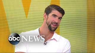 Download Michael Phelps on his race against a great white shark Video