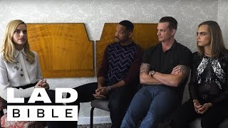 Download Will Smith, Margot Robbie, and Cara Delevingne (Suicide Squad) Tell Truths and Lies Video