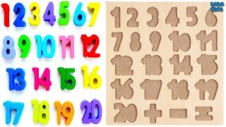 Download Learn 1To20 Numbers For Kids|Counting Numbers|Numbers 1 to20|Learn Colors Play Doh Compilation Video