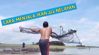 Download Cara menjala ikan di atas sampan Video