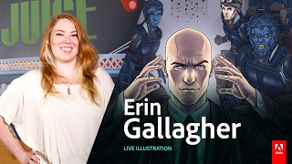 Download Live Illustration with Erin Gallagher - Day3 AdobeLive Video