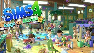 Download BABY PROOFING THE HOUSE   The Sims 4 Rags to Riches Ep.15 Video