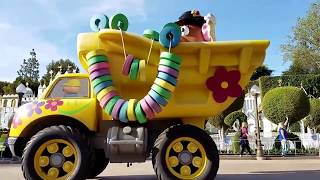 Download FULL Pixar Play Parade Preview Disneyland Pixar Fest April 12 2018 Lamp Luxo Up Inside Out Video
