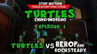 Download TMNT Teenage Mutant Ninja Turtles stop motion EP1 Video