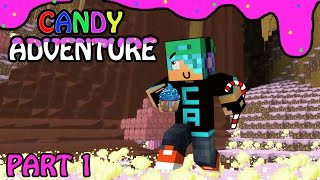 Download Candy Land Adventure with Cybernova - Part 1 - Killer Gingerbread Babies - Minecraft Video