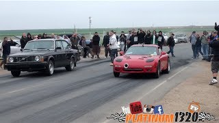 Download LS7 Turbo Fd Rx7 vs LSX Turbo Volvo Video