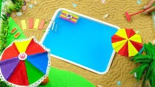 Download DIY Miniature Swimming Pool Video