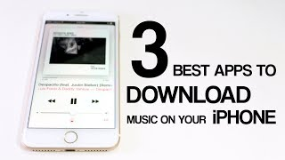 Download TOP 3 Best Apps to Download Free Music on Your iPhone (OFFLINE MUSIC)   2017 #5 [Subscribers Choice] Video