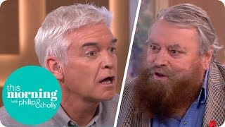 Download Brian Blessed Leaves Phillip Stunned After Revealing the Size of a Gorilla's Penis! | This Morning Video