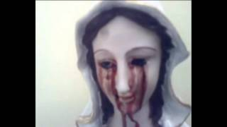 Download Bleeding Marian Statue at Ghaziabad Video