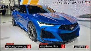 Download Acura Type S Concept – Redline: First Look – 2019 LA Auto Show Video